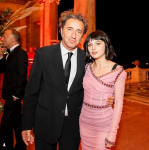 ALICE PAGANI, ATTRICE YD'ACTORS, AL GALA DINNER-TRIBUTE MARTIN SCORSESE BY VANITY FAIR